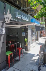 Enjoy Just Falafel Victoria Athens