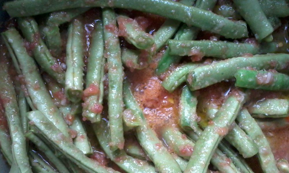 Fasolakia – Overcooked Beans!