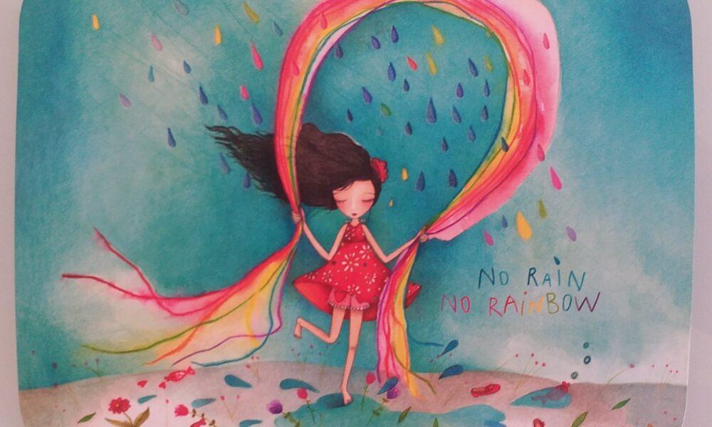 Hara Katsiki and her Intuitive Session Part 2: Rat, Rain and Rainbow